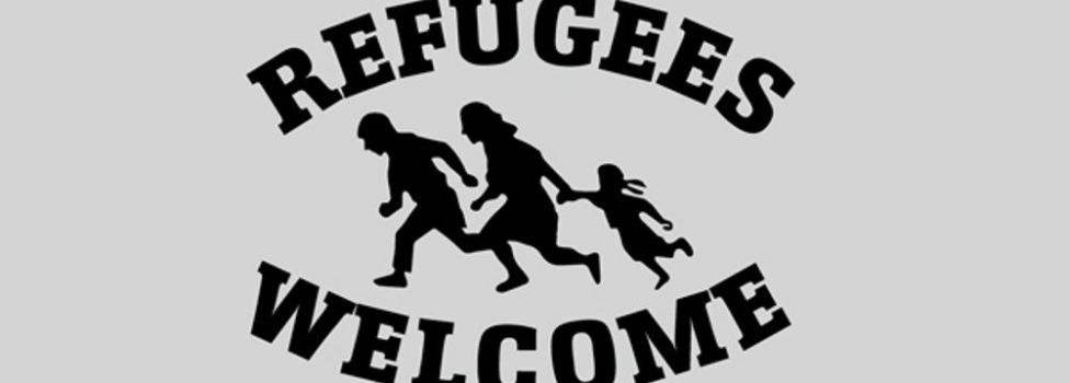 Refugees Welcome.