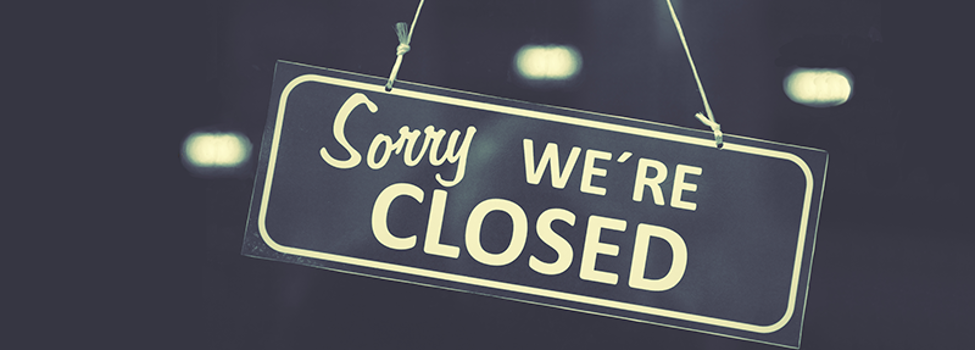 sorry, we are closed. Foto: stock.adobe.com | Roman Sigaev